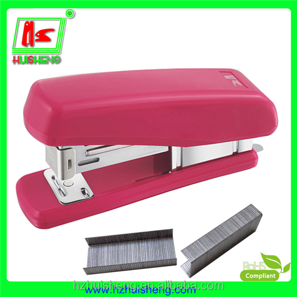 HOT! new stationery products, cardboard box stapler, manual stapler