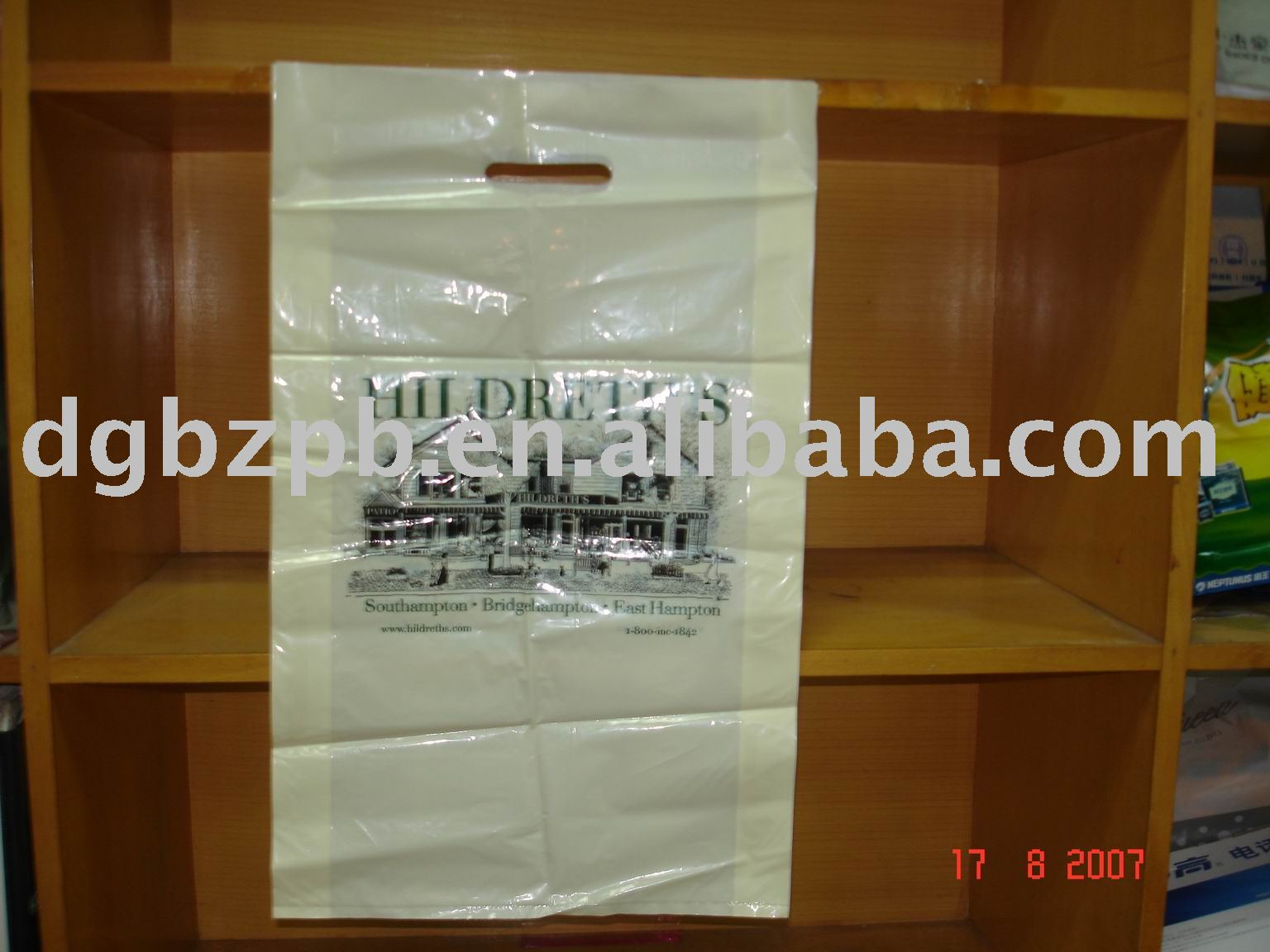 nice LLDPE HDPE Shopping bags for garment