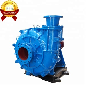 Low Volume High Pressure Long Distance Large Passage Sewage Sludge Mineral Sands Suction Solid Slurry Pump