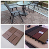 2016 hot selling Garden Swimming pool decoration wpc interlocking decking tiles outside waterproof wpc flooring
