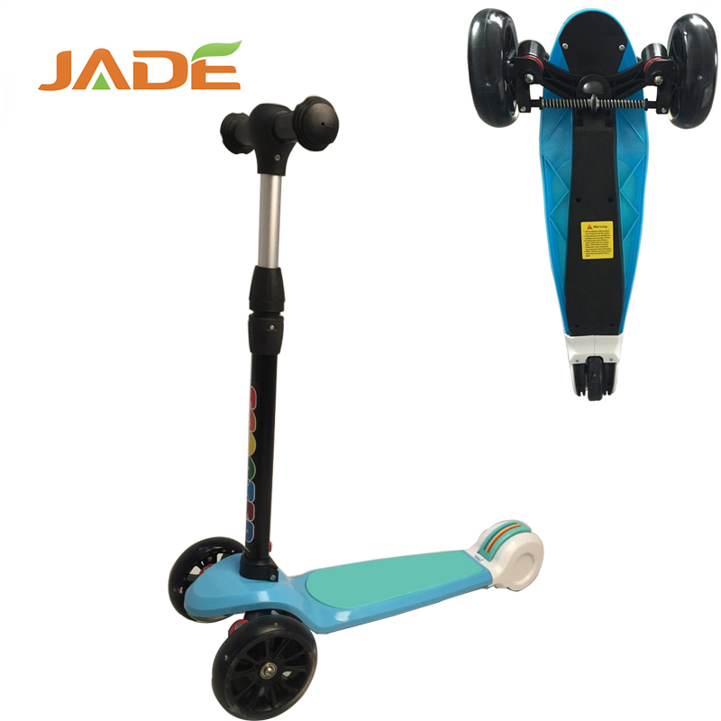 2017 Top Selling Twisting Scooter Wholesale kids kick scooter to Global Market, folding kids scooter with hemming rear wheel