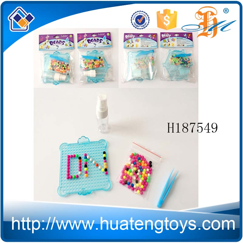 H187549 Hot wholesale plastic water beads made different images diy toys set for kids