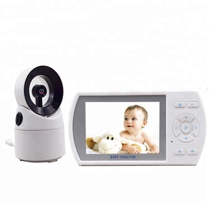 Factory Directly Fast Seller Custom OEM 3.5 inch TFT LCD CE wireless visual video baby monitor with two way audio intercom
