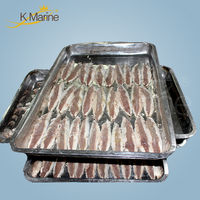 Precooked Frozen Pacific Mackerel Fish Filet For Canned