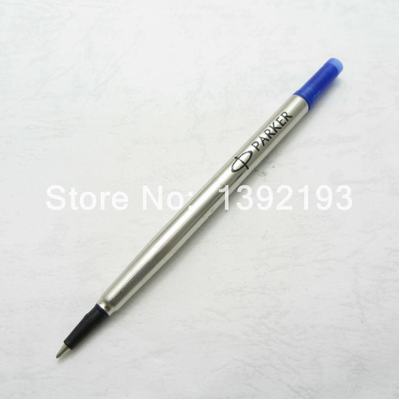 10 pcs parker bleu recharge stylo bille encre bleue x1001 dans recharge pour stylo de bureau. Black Bedroom Furniture Sets. Home Design Ideas