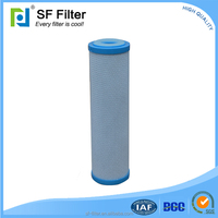 20 inch activated carbon filter for water treatment