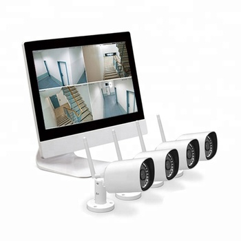 Innotronik All in One High Quality Wireless IP Camera and Monitor NVR WiFi Camera Kit