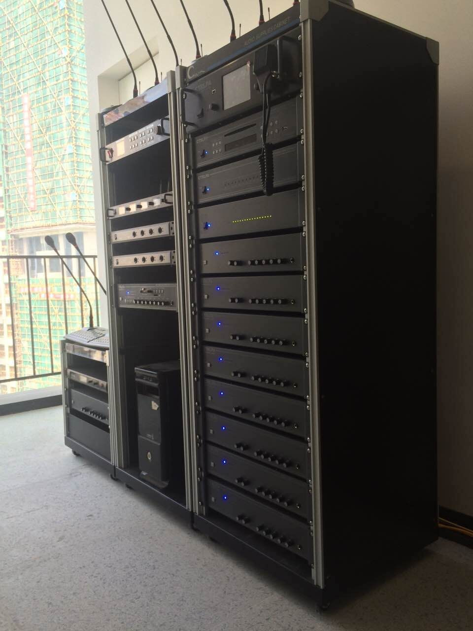Professional Pa Audio Systems Outdoor Cabinet Rack For
