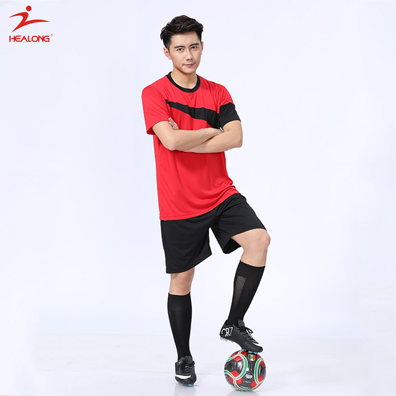 29c0cf5f8 Helaong Custom Sublimation Football Jersey Soccer Jersey Made In China Soccer  Uniform