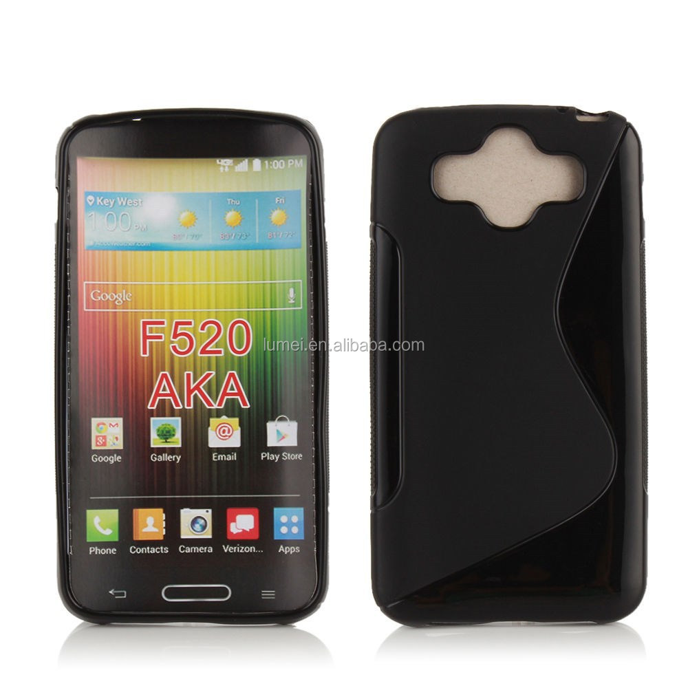 New High Quality Crystal Soft Gel TPU Case For LG AKA F520