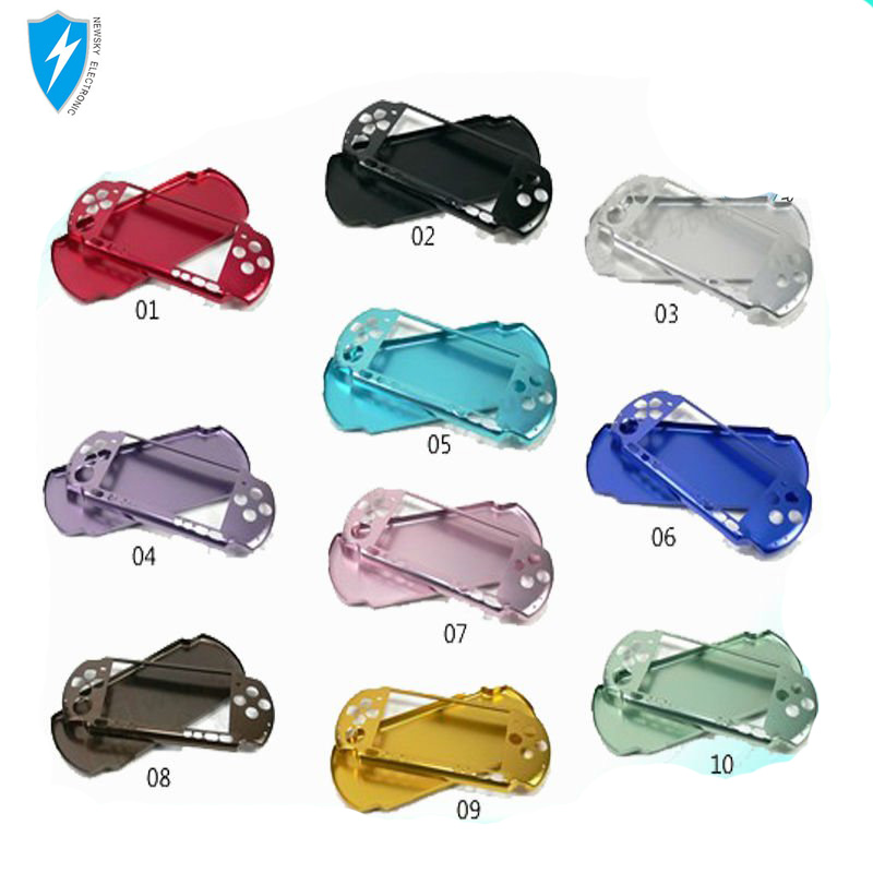 10 colors Cheap Aluminum Cases for PSP 3000 Game Console