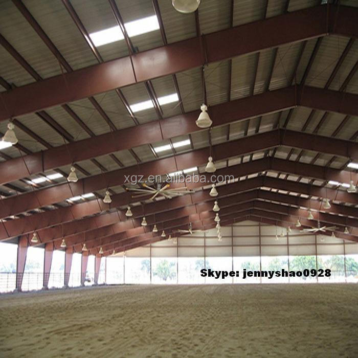 2015 New design hot sales steel structure indoor horse riding arena