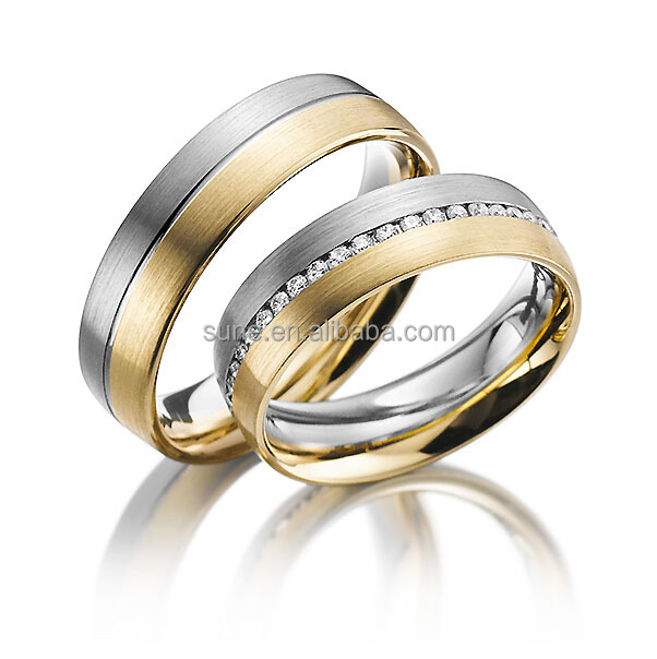 wholesale peruvian jewelry custom stainless steel state couple wedding ring