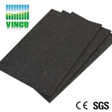 Rubber Damping Reduction Floor Mats Silicone rubber thermal insulation pad