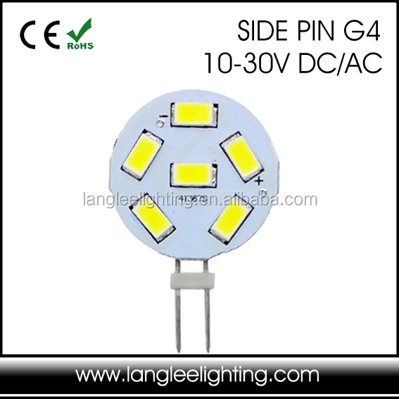 G4-6SMD-5630 PCB 36mm Disc G4 1.5W LED Bulb