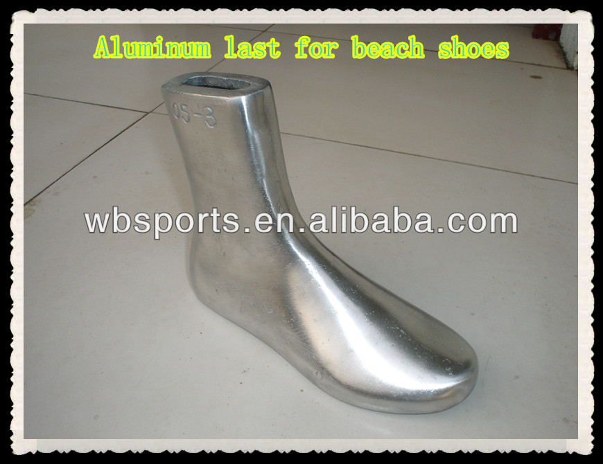 beach shoes Aluminum last Aluminum last for 8wqI4