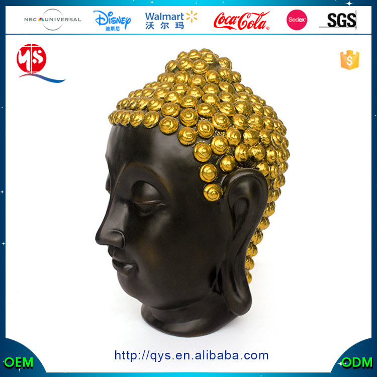 Resin Religious Crafts Wholesale Custom Buddha Bobble Head
