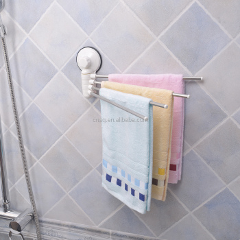 Suction Cup Swing Arm Kitchen Towel Rack