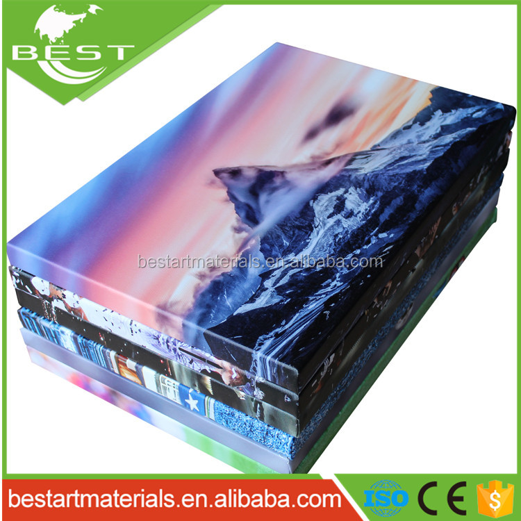 Wall Hanging Landscape Picture Canvas Printing Art for Restaurant Decoration with high quality canvas