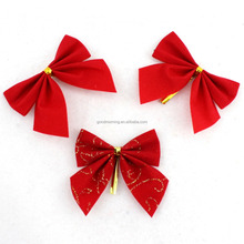 Wholesale Small Red Bowknot Christmas Tree Ornaments