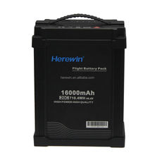 Herewin rechargeable <span class=keywords><strong>batterie</strong></span> lipo D'UAV 16000 mah 44.4 v 12 s batteries lithium-ion