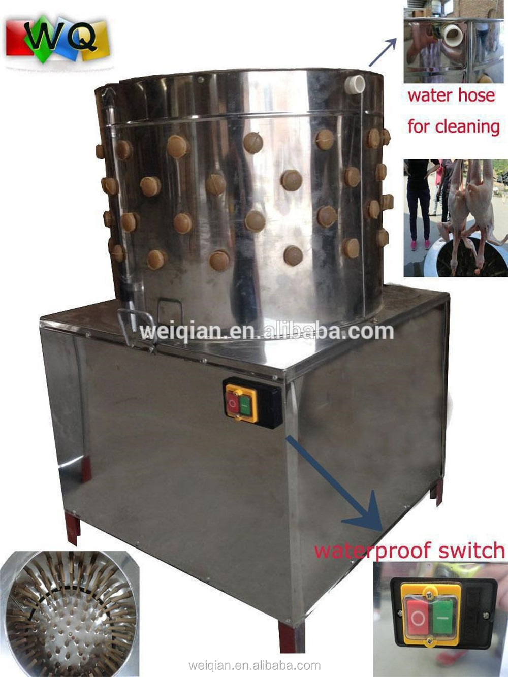 High Quality Poultry Automatic Chicken Plucker Machine