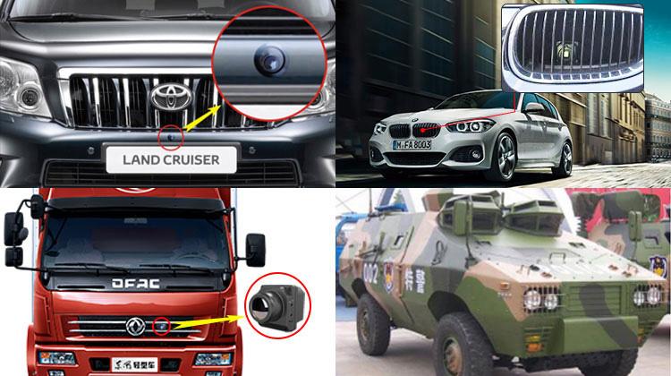 Waterproof IP67 cheap hidden night vision car front car dash camera hd