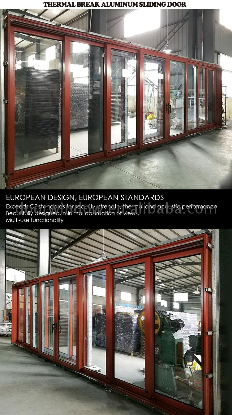 Factory Direct Sales exterior sliding doors melbourne for sale garden