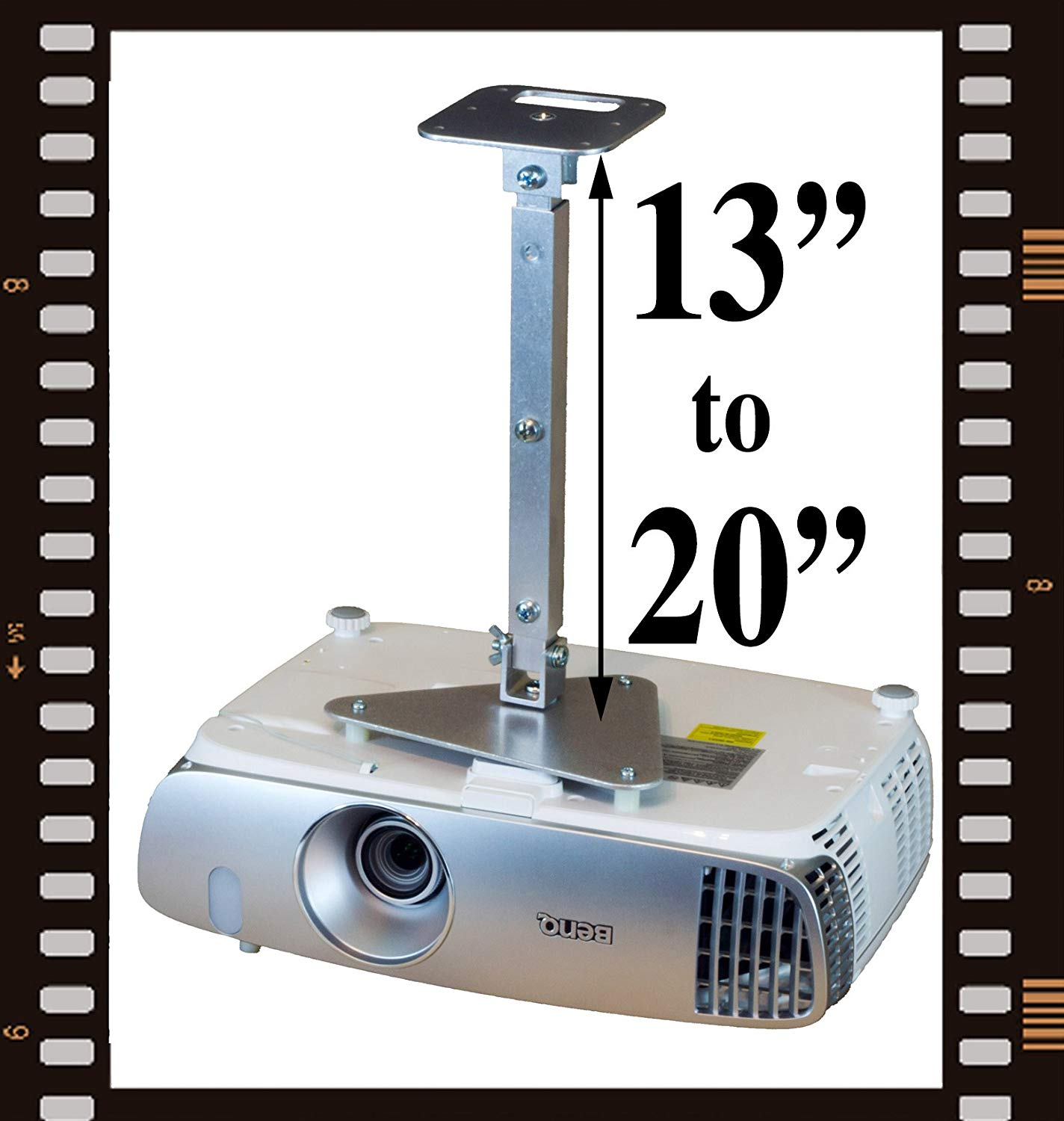 Projector Ceiling Mount for Optoma TS551 TW631-3D TX551 TX631-3D