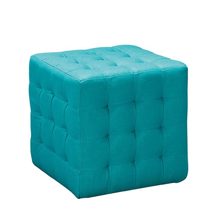 Hermosa Cubo De Muebles Tapizados Otomana Adorno - Muebles Para ...