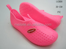 2015 pvc jelly sandal kid sandal , leisure shoes , sport shoes