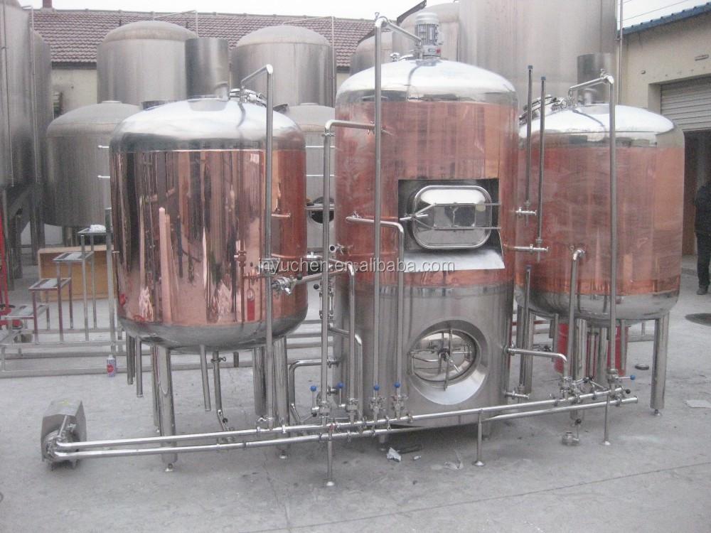 Beer boiler tank, stainless steel brew kettle, brewhouse