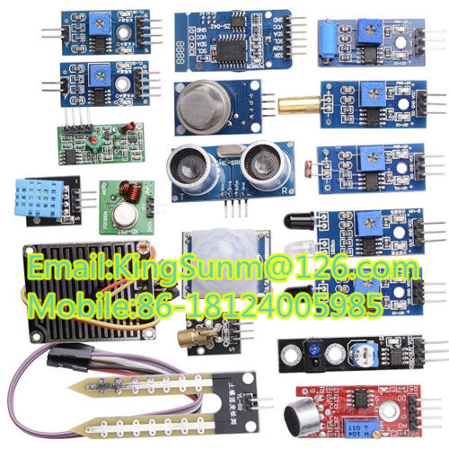 1. 16 In 1 Sensor Module Kit Raspberry Pi 2 Pi2 Pi3