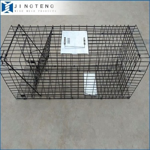 Alibaba Supply Automatic Mouse/Rat/Rabbit/Dog/Chicken/Fox/Animal Cage Trap