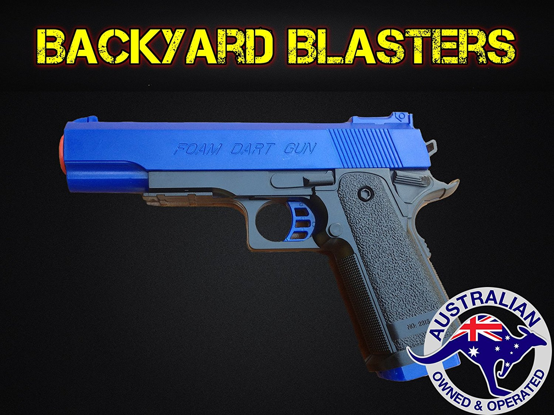 Detective M1911 Nerf Foam Dart Gun - Colt .45 ACP Toy Gun | Backyard Blasters