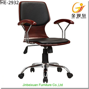 Executive Chairs Leather Antique Wood