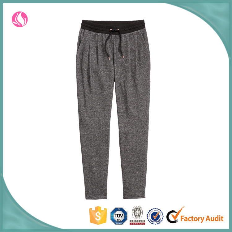 Crossfit Woman Jogger Pants Blank Pant Suits Ribbings Casual Pants