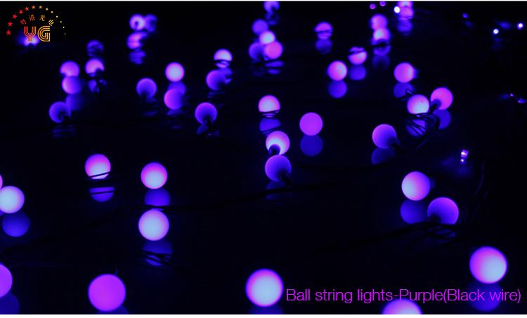 10m 60bulbs Blue Led Christmas Twinkle Light Commercial Led ...