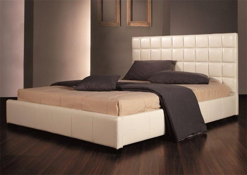 Double bed sunmica designs for Bedroom cot designs