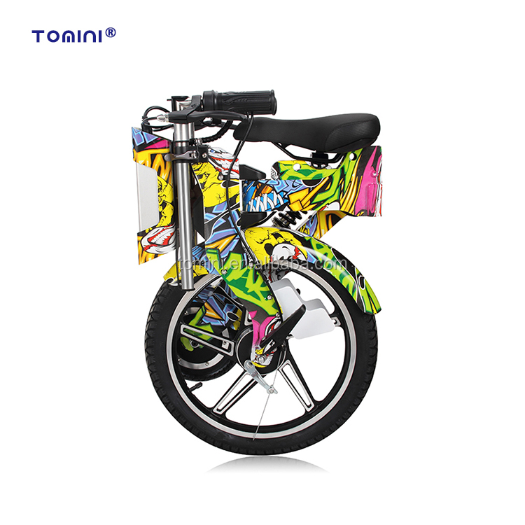 Fashion style folding stealth bomber electric dirt bike