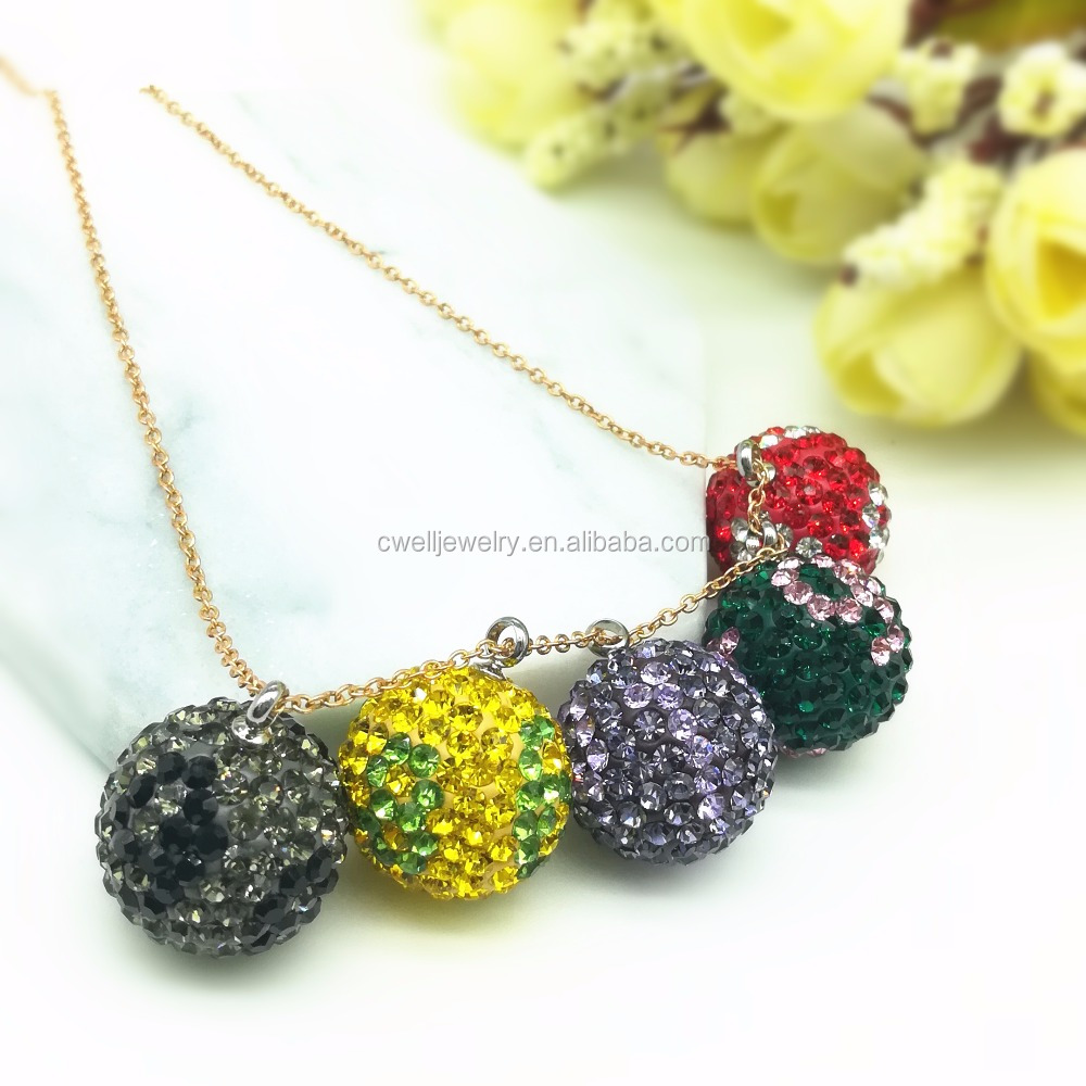 Most Popular Custom Colorful Pearl Cage Jewelry Pendant Necklaces
