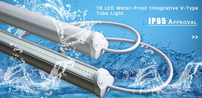 Lonyung Integrated Double T5 Led Tube