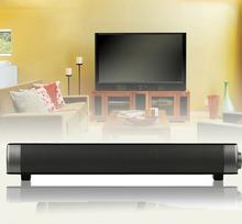 Slim Magnetic Wireless Soundbar LP-08 HIFI Box Bluetooth Subwoofer Speaker Boombox Stereo Portable hands-free speaker FOR TV PC