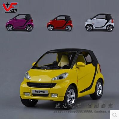 new mercedes benz smart fortwo car model 1 24 corgi original alloy car models baby toy. Black Bedroom Furniture Sets. Home Design Ideas