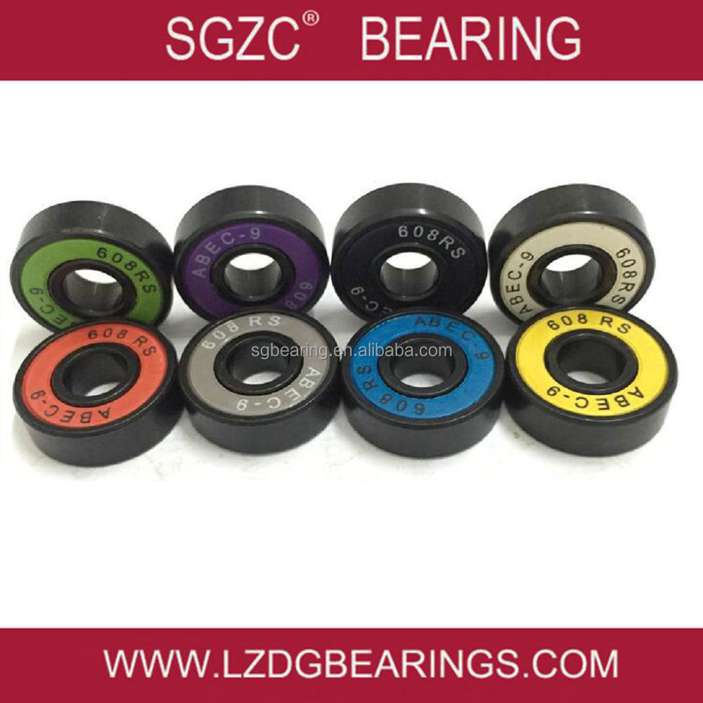 China supplier OEM brand scooters bearing roller skate bearing 608z with spacers