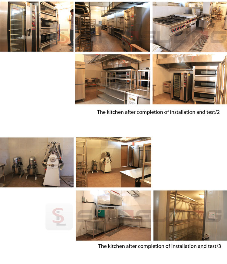 2015 Shinelong APEC Hotel Kitchen Project With Equipment