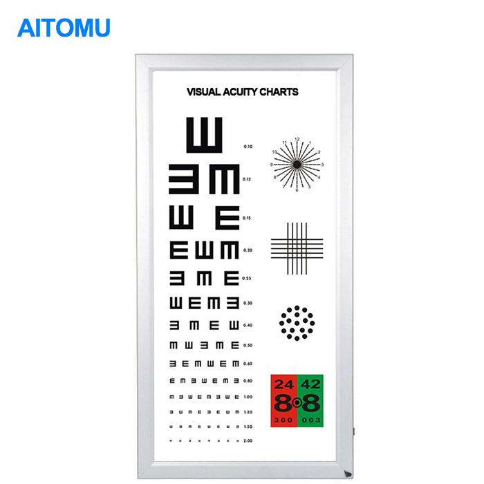 Visual Testing Chart Light Box Eye Test Light Box Lcd Chart Elite