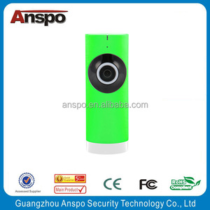 Anspo WiFi Network Mini Panoramic fisheye Smart Security system best ip camera with sd card