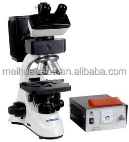 Fluorescent Free Objective 10X,20X,40X(S),100X(S,Oil) LED Fluorescence Biological Microscope