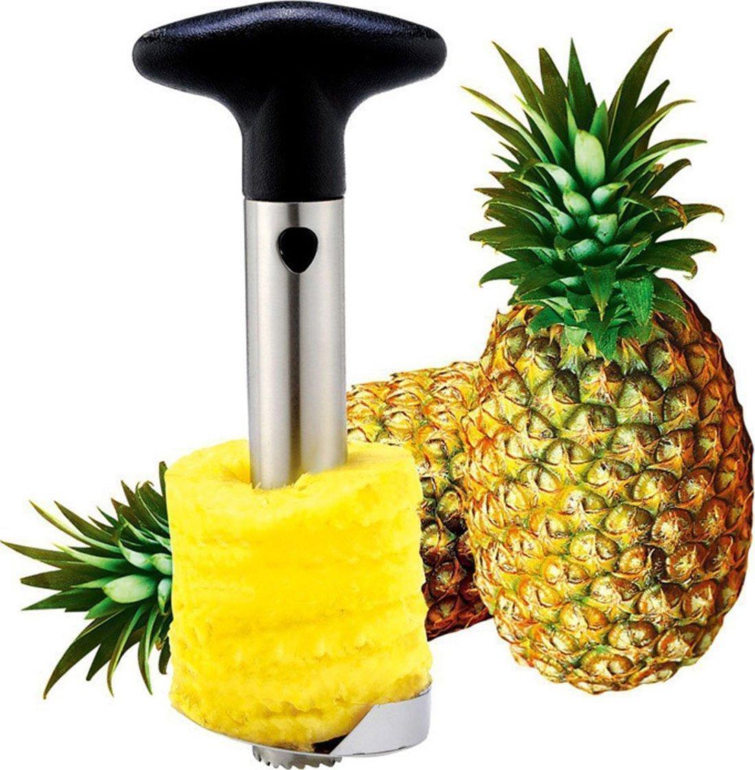 Utopia Kitchen Pineapple Corer - Pineapple Slicer - Pineapple Peeler - Stainless-Steel - 3 in 1 Tool
